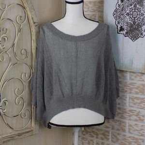 Buffalo by David Bittin lightweight gray knit top